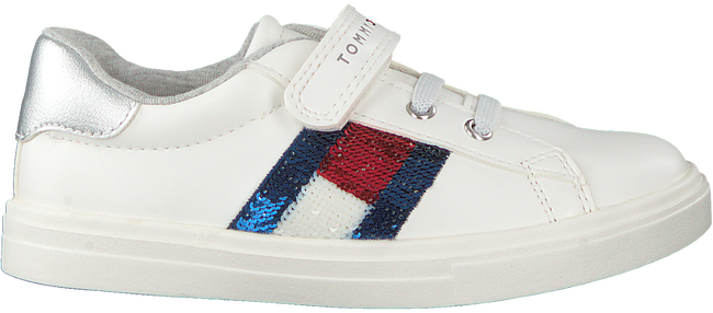 Witte TOMMY HILFIGER Lage sneakers LOW CUT LACE-UP/VELCRO SNEAKER  - large
