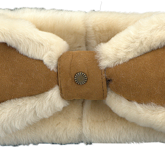 Cognac UGG  Oorwarmer BOW HEADBAND - large