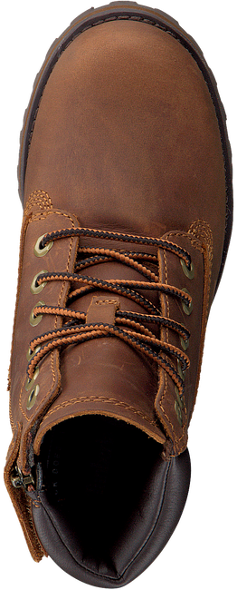 TIMBERLAND Bottines à lacets COURMA KID TRADITIONAL 6 INCH en cognac  - large