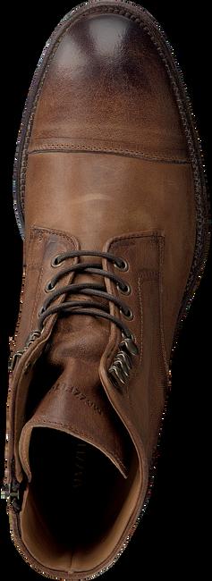 MAZZELTOV Chaussures à lacets 3706 en cognac  - large