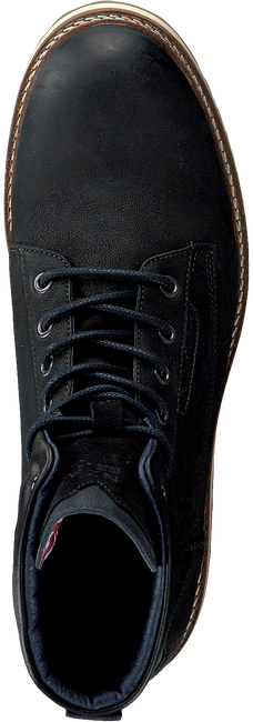 NZA NEW ZEALAND AUCKLAND Bottines à lacets LEIGH HIGH en noir  - large