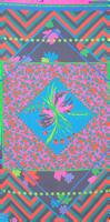 Multi LE BIG Sjaal PERLA SCARF  - medium