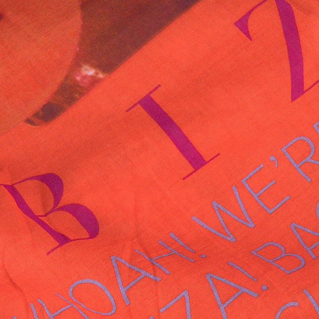 NOTRE-V Foulard IBIZA en orange  - large