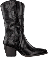 VERTON Bottes hautes 687-007 en noir  - medium