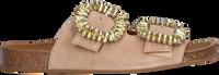 Beige TORAL Slippers TL-10865  - medium