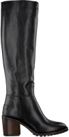 SHABBIES Bottes hautes 193020062 en noir  - medium