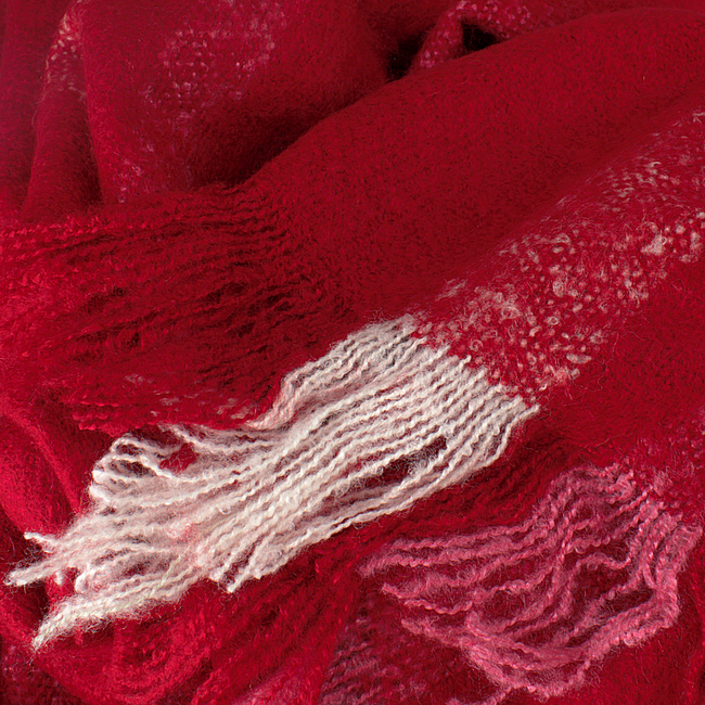 ABOUT ACCESSORIES Foulard 8.91.905 en rouge - large