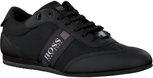 HUGO BOSS Baskets LIGHTER LOWP MXME en noir - large