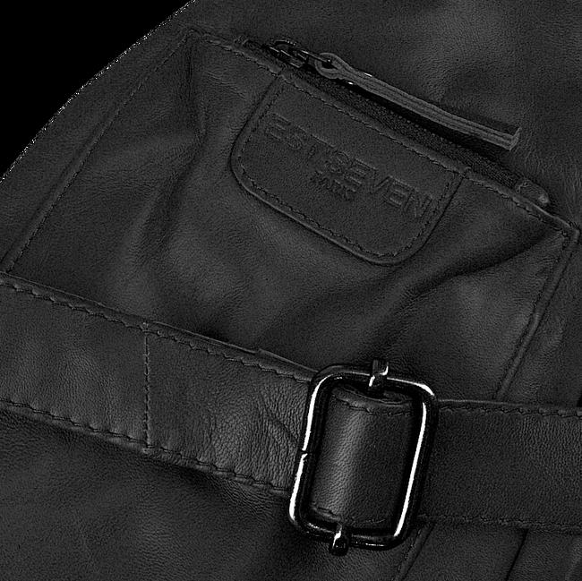 EST'SEVEN Sac bandoulière EST' LEATHER BAG MIREL en noir  - large