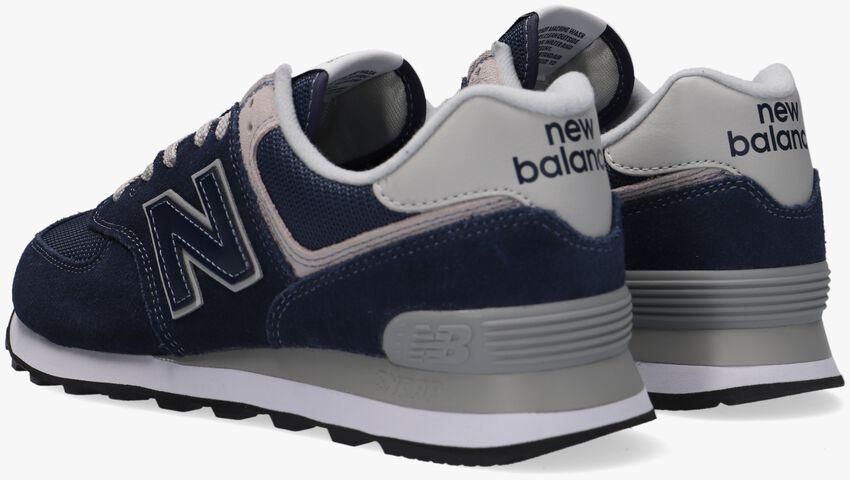 NEW BALANCE Baskets ML574 MEN en bleu - larger
