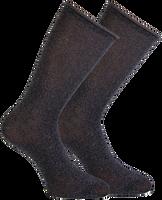 MARCMARCS Chaussettes GWEN 2-PACK LANG en gris - medium
