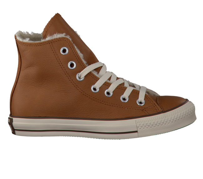 cognac CONVERSE shoe AS HI DAMES  - large