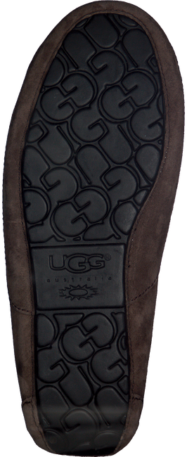 UGG Chaussons ASCOT en taupe - large