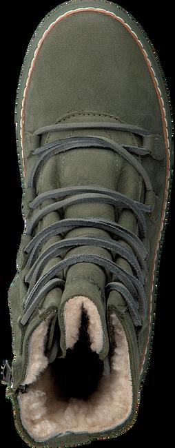 BLACKSTONE Bottines à lacets OL26 en vert - large