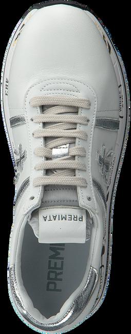 PREMIATA Baskets basses BETH en blanc  - large