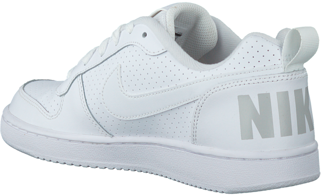NIKE Baskets COURT BOROUGH LOW (KIDS) en blanc - large