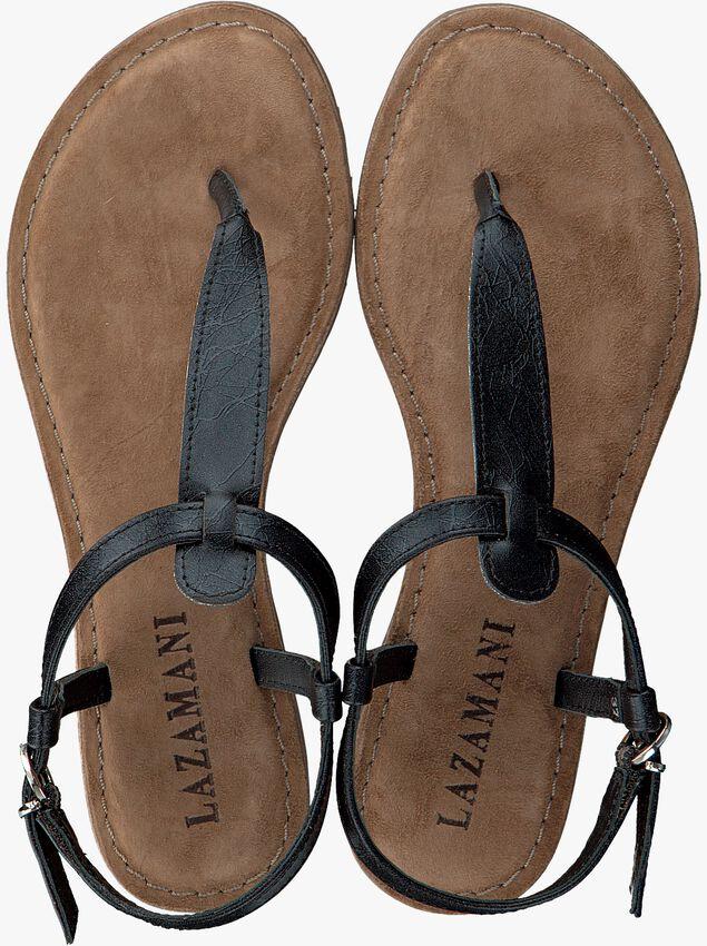 LAZAMANI Sandales 75.422 en noir - larger