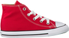 CONVERSE Baskets CTAS HI KIDS en rouge - small
