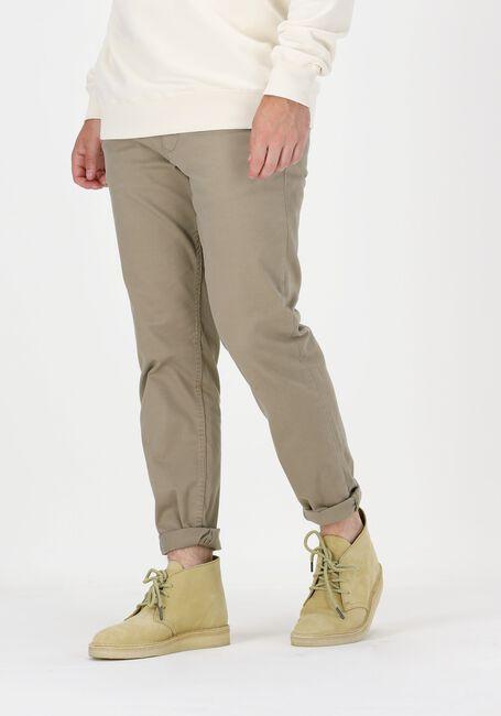 SELECTED HOMME Chino SLHSTRAIGHT-NEWPARIS FLEX PANT en beige - large