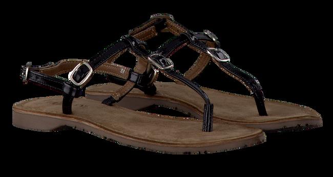 LAZAMANI Sandales 75.211 en noir - large