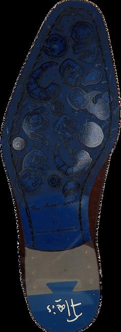 Cognac FLORIS VAN BOMMEL Nette schoenen 18493  - large