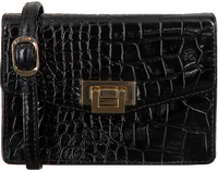 Zwarte DEPECHE Schoudertas SMALL BAG 13784  - medium