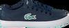 LACOSTE Baskets STRAIGHTSET LACE 118 1 CAC en bleu - small