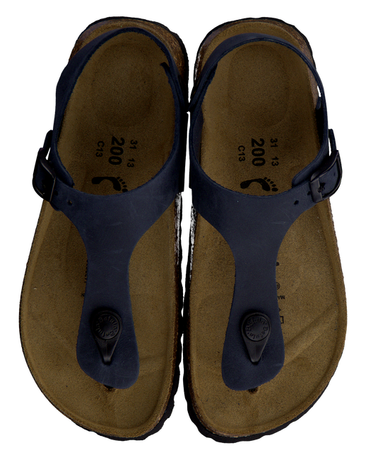 BETULA Sandales ROBIN en bleu - large