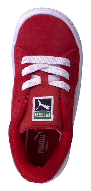 PUMA Baskets 355116 en rouge - large