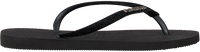 Zwarte HAVAIANAS Slippers SLIM GLITTER  - medium