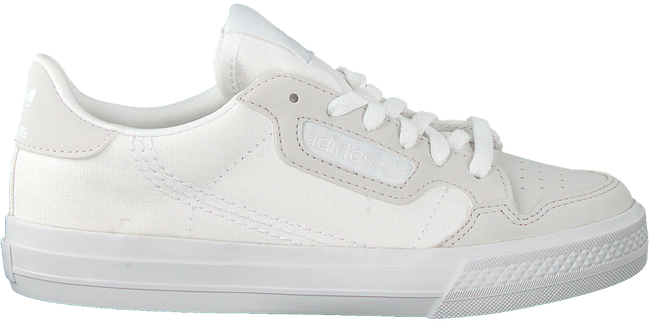ADIDAS Baskets basses CONTINENTAL VULC C en blanc  - large