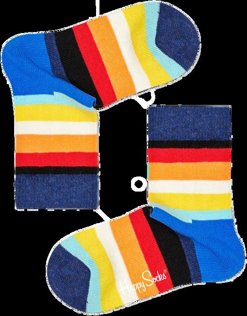 HAPPY SOCKS Chaussettes STRIPE KIDS en bleu  - large