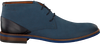 VAN LIER Richelieus 5341 en bleu - small