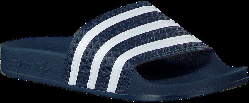 Blauwe ADIDAS Slippers ADILETTE DAMES  - larger
