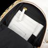 EST'SEVEN Sac bandoulière EST' LEATHER BAG MIREL en or  - small