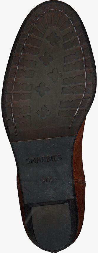 Cognac SHABBIES Enkellaarsjes 182020094 - larger