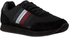 TOMMY HILFIGER Baskets basses CORPORATE RUNNER en noir  - small