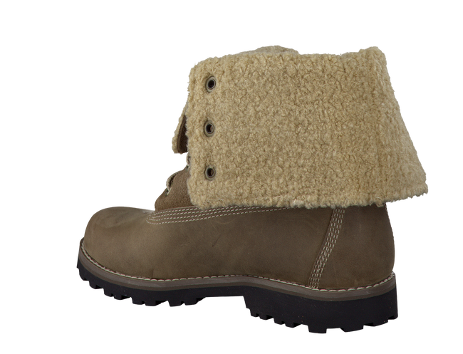 green TIMBERLAND shoe 6'FAUX SHEARLING BOOT  - large