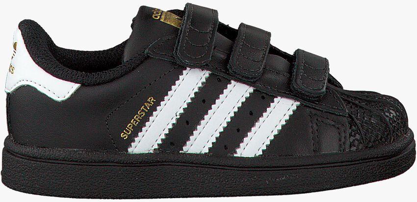 Zwarte ADIDAS Sneakers SUPERSTAR CF  - larger