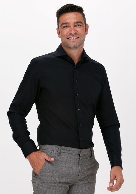 Zwarte PROFUOMO Klassiek overhemd NOAH  - large