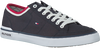 Blauwe TOMMY HILFIGER Sneakers CORE CORPORATE TEXTILE SNEAKER - small