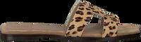 Beige TORAL Slippers 11074  - medium