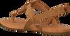 UGG Sandales W DINUBA en marron  - small