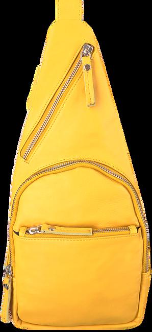 EST'SEVEN Sac bandoulière EST' LEATHER BAG MIREL en jaune  - large