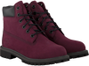 TIMBERLAND Bottes hautes 6IN PREMIUM en rouge - small