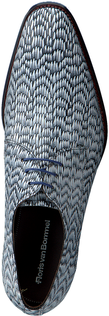 Grijze FLORIS VAN BOMMEL Nette schoenen 18159  - large
