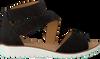 GABOR Sandales 582 en noir - small