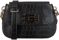 GUESS Sac bandoulière TRIPLE G DEMI SHOULDER BAG en noir  - medium