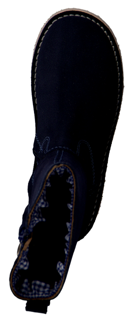 KOEL4KIDS Bottes hautes JANNEKE en bleu - large