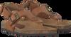 CLIC! Sandales CONGO en cognac - small